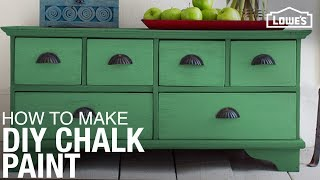 How To Make DIY Chalk Paint