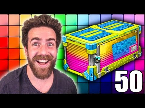 50 NEW TOTALLY AWESOME CRATE OPENING (Double Painted Weekend)