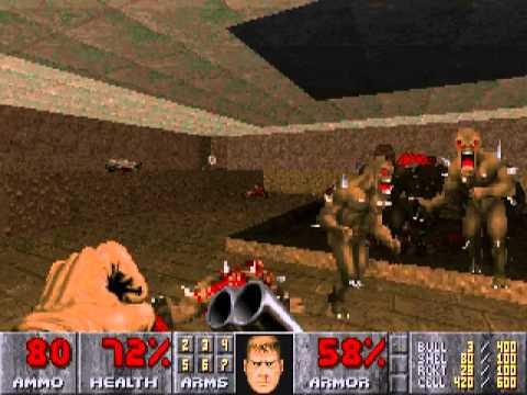 Doom II Walkthrough - Map 17 - Tenements by Xeros612 Game