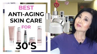 BEST Anti Aging Skin Care for 30's