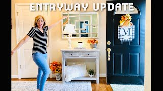 FOYER MAKEOVER | RUSTIC MODERN | Farmhouse CLEAN & DECORATE | Entryway Update | LIVING GRATEFULLY