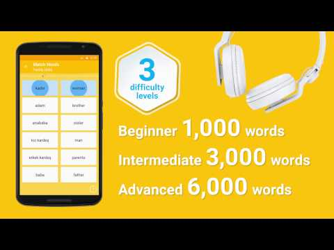 Video of Learn Turkish 6,000 Words