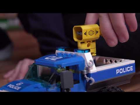Vidéo LEGO City 60172 : La course-poursuite en montagne