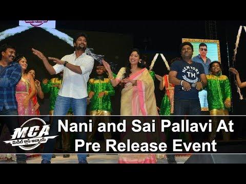 Nani and Sai Pallavi Dance With Devi Sri Prasad At MCA
