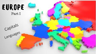 Countries of Europe | Capital & Languages