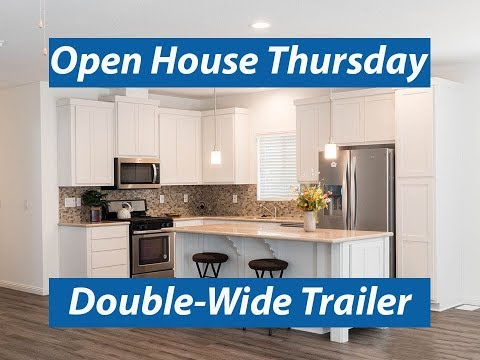Incredible Double-Wide Trailer. Custom Manufactured Home. Silvercrest Bradford Series BD-07