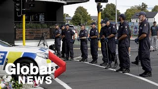 New Zealand shootings: Suspect was non-compliant, had IEDs
