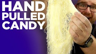 How to make Dragons Beard Candy Making - The Impossible Hand Pulled Cotton Candy