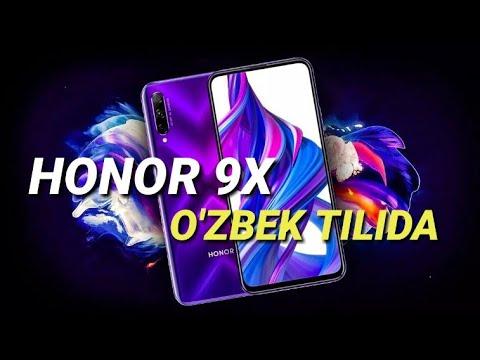 HONOR 9X -O'ZBEK TILIDA|REDMI NOTE 8NING RAQIBI !!!