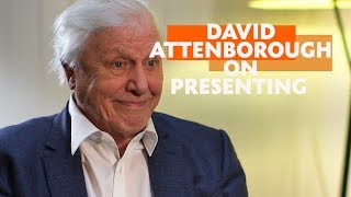 Getting into television presenting. Career advice from David Attenborough