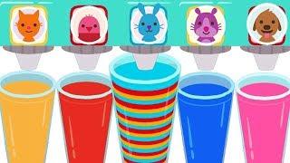 Kids Learn Colors Numbers Shapes - Fun Kids Education Cartoon Game Sago Mini Pet Cafe