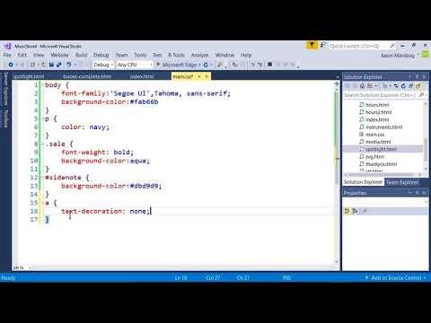 Applying Pseudo Classes - MTA Introduction to Programming Using ...
