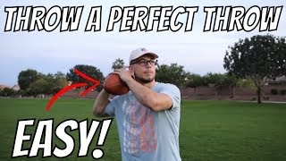 How To Throw A Football Far And Accurate!