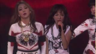 2NE1    SCREAM LIVE PERFORMANCES