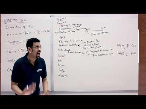 CPA Training Video | Auditing - Intro to Audit | By Varun Jain