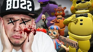 They KILLED ME!   Animatronics' Revenge 2 (Gmod Sandbox 'I Killed' Special)