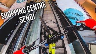 RIDING BIKES in a SHOPPING CENTRE - MTB SHOW RadQuartier Pump'n'Jump Tour!
