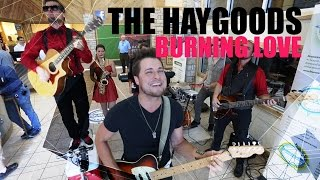 Burning Love - Elvis Presley (The Haygoods Cover)  Video