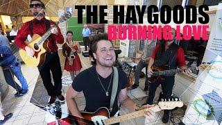 Burning Love - Elvis Presley (The Haygoods Cover)  Video
