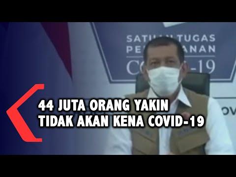 full satgas lebih dari juta warga indonesia yakin tidak akan kena covid-