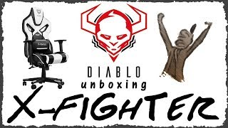 Diablo X - FIGHTER Gaming Chair unboxing - german / deutsch
