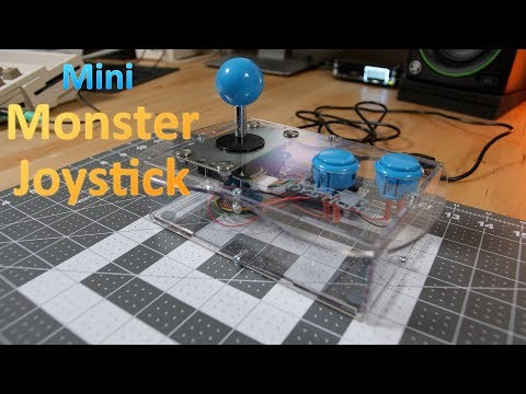 Mini Monster Joystick Review – BEST joystick for your C64, Amiga and Atari computers!