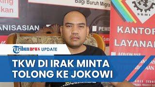 Video TKW Asal Indramayu Minta Tolong ke Jokowi, Sambil Nangis Sebut Kondisinya Sakit Parah di Irak
