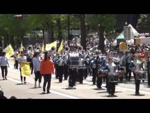横浜市立下野庭小学校マーチングバンド
