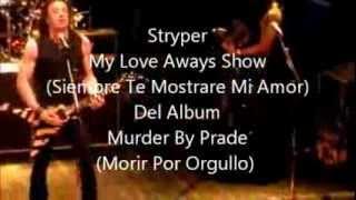 Stryper - My Love i'll Always Show (Subtitulado Al Español)