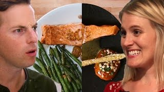 Couple Tries Home-Cooking Vs. $120 Salmon