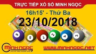 Xổ số Minh Ngọc™ Thứ Ba 23/10/2018 - Kênh chính thức từ Minhngoc.net.vn