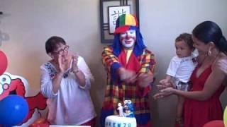 Payaso Pikorete en Cumpleaños de Lorenzo en Juncos Puerto Rico