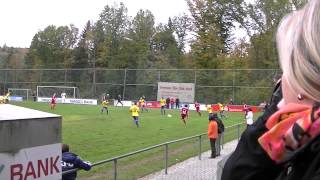 preview picture of video 'TSV Höpfingen vs SV 98 Schwetzingen 1:1 (1:0)'