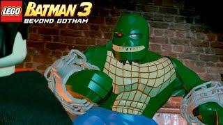 LEGO Batman 3 Beyond Gotham | #1 ENFRENTANDO O CROCODILO NO ESGOTO