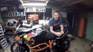 A quick video from my garage talking about my racing plans for