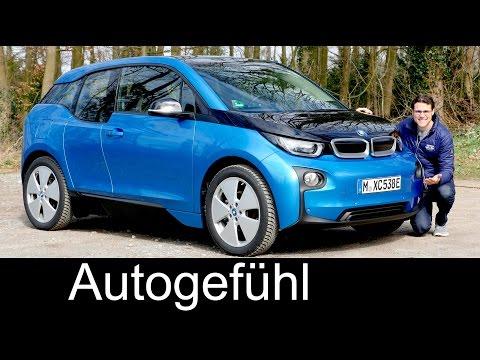 BMW i3 FULL REVIEW range Facelift 94 Ah test driven - Autogefühl