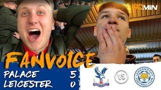 Crystal Palace Thrash Leicester City 5 0!  |  Palace 5 0 Leicester  |  90min FanVoice