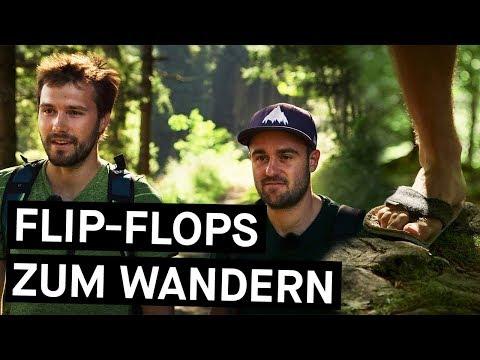 Flip-Flops zum Wandern? Zwei Rosenheimer haben sie erfunden! || Bavarian Makers