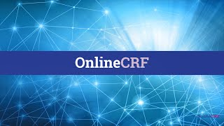 OnlineCRF video