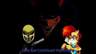 Sally.exe Continued Nightmare проходим на хорошую концовку