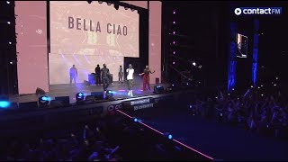 Grand Live Contact FM   NAESTRO   BELLA CIAO (Live) Ft Maitre Gims, Dadju, Slimane Et Vitaa