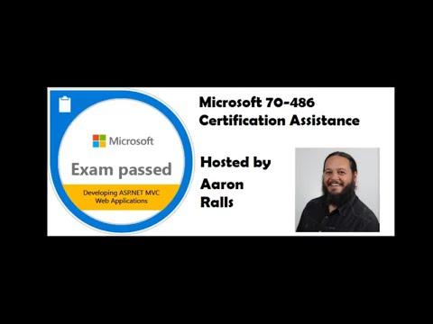 Microsoft Exam 70-486 MVC C# ASP.NET Core Certification ...
