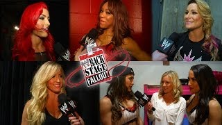Divas Talk Lita in Hall of Fame - Backstage Fallout - February 10, 2014