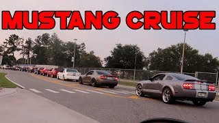 Mustangs Takeover the Highway