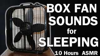Box Fan White Noise Sounds for Sleeping 10 Hours