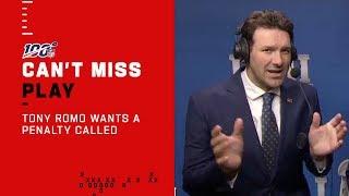 "Tony Romo ""Bad Lip Reading"" Referees Discussing Missed 12 Men Call"