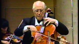 Haydn Cello Concerto No. 1 in C major - III. Finale: Allegro molto, Cello: Rostropovich