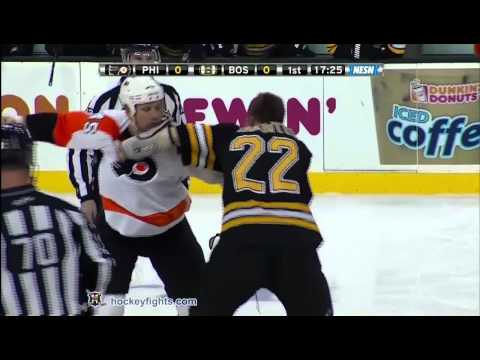 Shawn Thornton vs. Jody Shelley