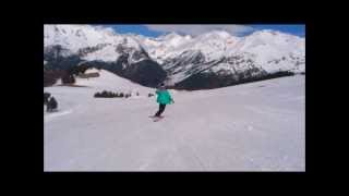preview picture of video 'Lau Bajada Sextas Formigal Abril 2013'