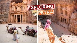 Best Views Of Petra   Jordan